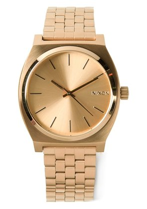 Nixon 'The Time teller' watch - Metallic