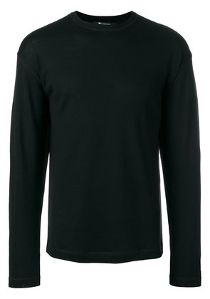T By Alexander Wang plain sweatshirt - Black