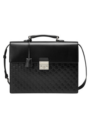 Gucci Gucci Signature briefcase - Black