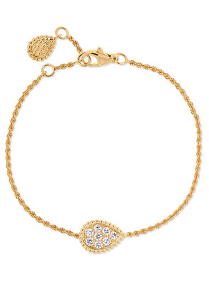 Boucheron - Serpent Bohème 18-karat Gold Diamond Bracelet - one size