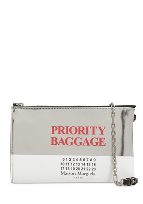 PRIORITY BAGGAGE LEATHER SHOULDER BAG