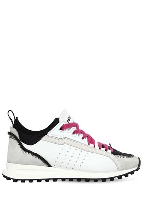30MM 2 RUN SUEDE & NEOPRENE SNEAKERS