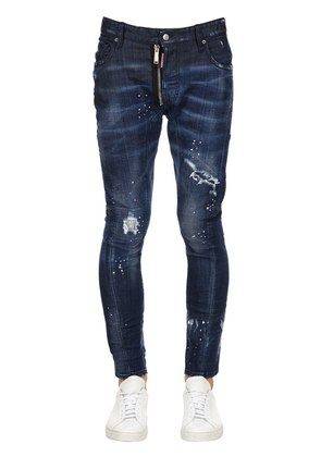 17CM TIDY BIKER COTTON DENIM JEANS