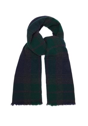 Vintage wool and cashmere-blend scarf