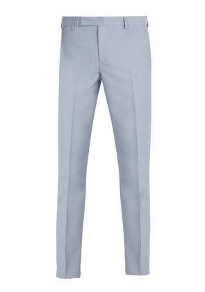 Soho wool and mohair-blend suit trousers