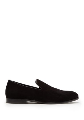 Marlo suede loafer