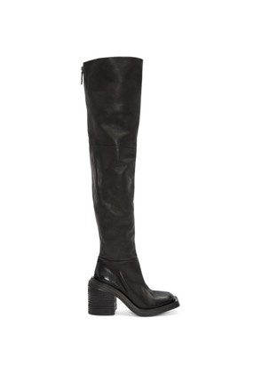 Marsèll Black Scatolo Over-the-Knee Boots