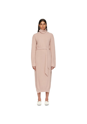 Nanushka Pink Canaan Knit Turtleneck Dress