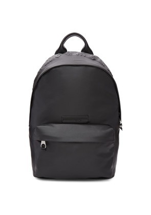 McQ Alexander McQueen Black Faux-Leather Classic Backpack