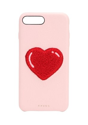 HEART LEATHER IPHONE 7/8 PLUS COVER