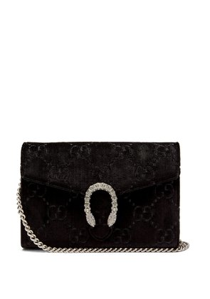 Dinoysus GG velvet mini shoulder bag