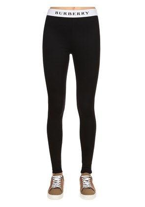 LOGO LYCRA LEGGINGS