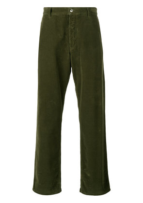 Ami Alexandre Mattiussi Large Fit Trousers - Green