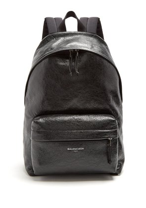Arena leather backpack