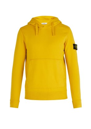 Cotton-jersey hooded sweater