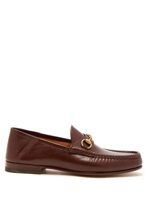Easy Roos collapsible-heel leather loafers