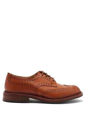 Bourton perforated leather brogues