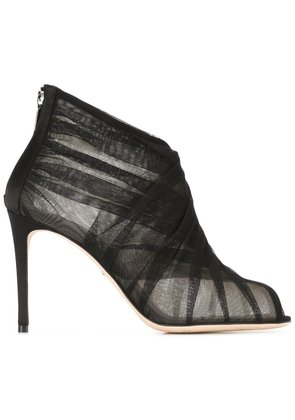 Dolce & Gabbana tulle booties - Black