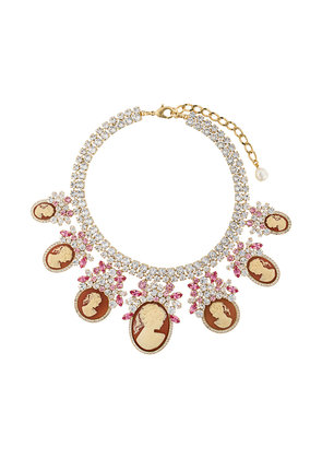 Dolce & Gabbana crystal-embellished necklace - Metallic