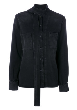 Golden Goose Deluxe Brand Chicago denim shirt - Black