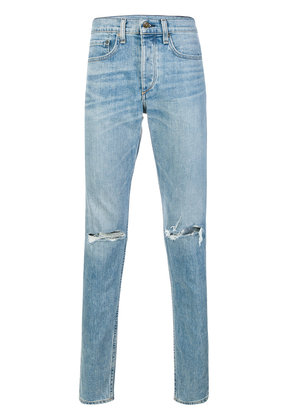 Rag & Bone faded distressed jeans - Blue