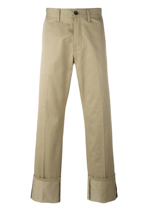 Gucci classic chinos - Brown