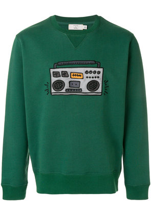 Coach Coach X Keith Haring radio patch sweatshirt - Green