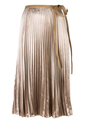 Valentino pleated skirt - Nude & Neutrals
