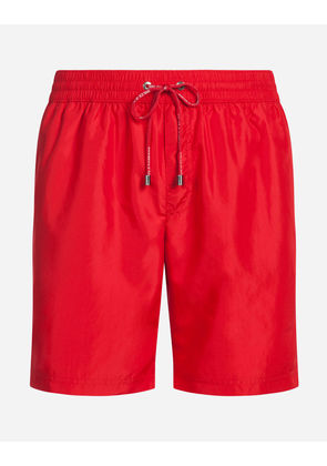 Dolce & Gabbana Beachwear - LONG SWIMMING TRUNKS RED