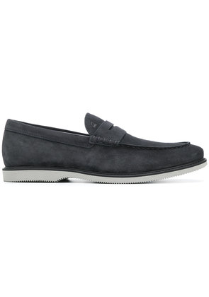 Hogan stacked loafers - Blue