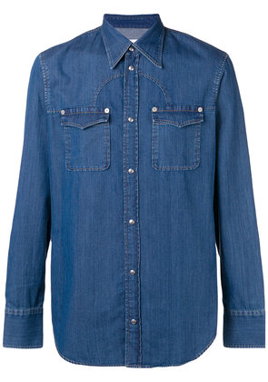 Maison Margiela denim shirt - Blue