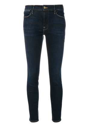 Frame Denim high rise skinny jeans - Blue