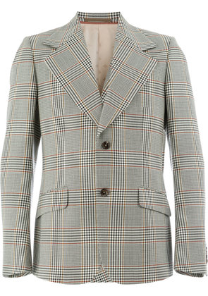 Gucci Heritage checked blazer - Grey