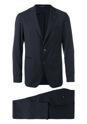 Tagliatore two piece wool suit - Blue