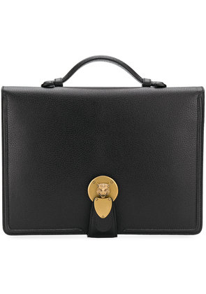 Gucci top handle briefcase - Black