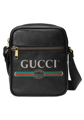 Gucci Gucci Print messenger bag - Black
