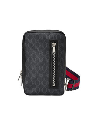 Gucci GG Supreme belt bag - Black