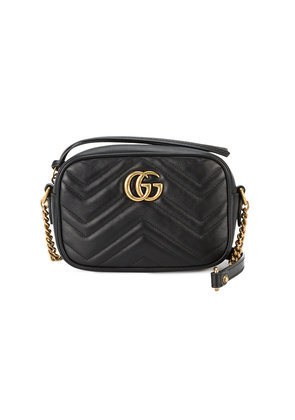 Gucci marmont mini cross-body bag - Black