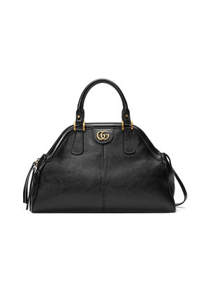 Gucci RE(BELLE) medium top handle tote - Black