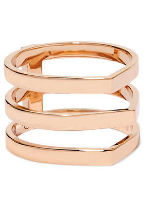 Repossi - Antifer 18-karat Rose Gold Ring - 52