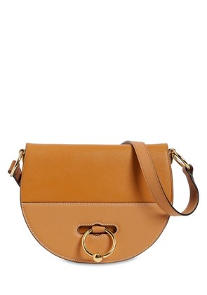 LATCH LEATHER SHOULDER BAG
