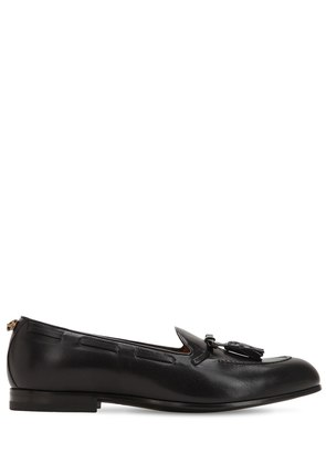 LOOMIS TASSEL LEATHER LOAFERS