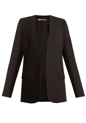 Shawl-lapel cady jacket
