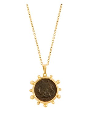 Capitoline Wolf 18kt gold necklace