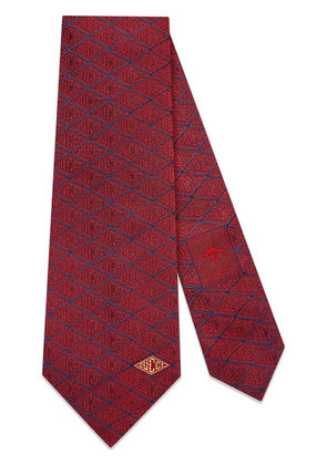 Gucci Gucci game silk tie - Red