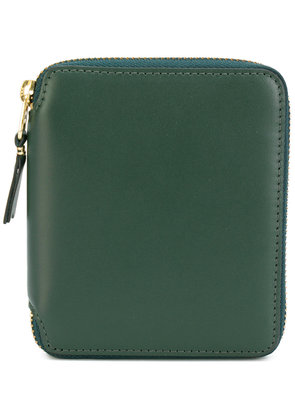 Comme Des Garçons Wallet zip around wallet - Green