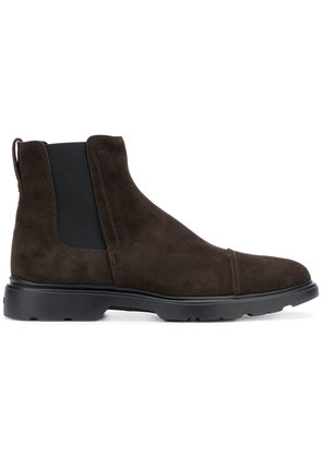 Hogan ankle boots - Brown