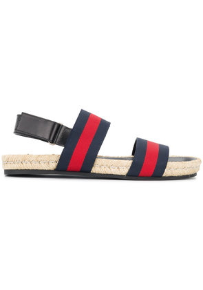 Gucci Gucci Web sandals - Blue