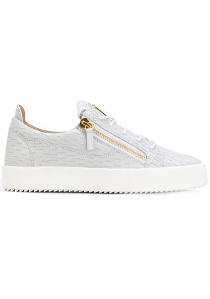 Giuseppe Zanotti Design Frankie low top sneakers - Grey