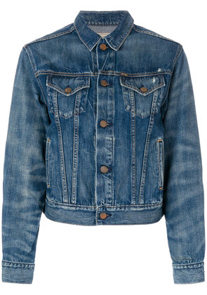 Polo Ralph Lauren cropped denim jacket - Blue